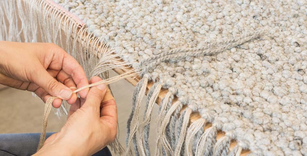Teppiche handgewebt in Österreich von Jordan